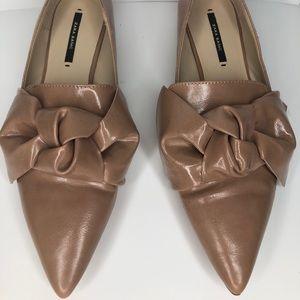 Women's Zara Basic Bow Flat